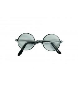 Amigurumi Gözlük Şeffaf Gümüş Çerçeve
