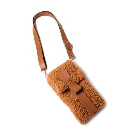 Camel Teddy Kadın Çapraz Çanta, Cüzdan & Telefonluk