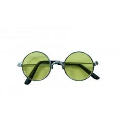 Amigurumi Gözlük Gümüş Çerçeve 01