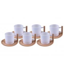 Aron - 6 Kişilik Kahve Fincan Takımı
