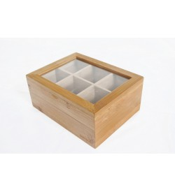 Misto Çay Kutusu 6 Bölmeli