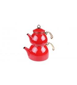 Sehzade - Çaydanlık Takımı Kırmızı