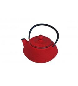 Linden Sümbül Kırmızı Döküm Demlik 750 ml