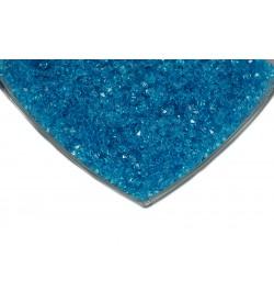Kristalize Prizma Akrilik Boncuk Mavi