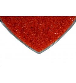 Kristalize Prizma Akrilik Boncuk Kırmızı