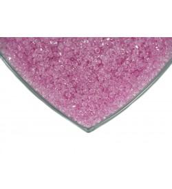 Kristalize Prizma Akrilik Boncuk Pembe