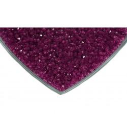 Kristalize Prizma Akrilik Boncuk Mor