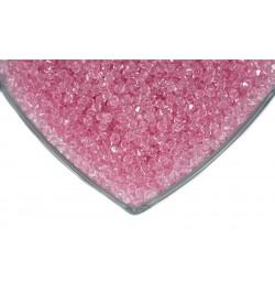 Kristalize Prizma Akrilik Boncuk Açık Pembe