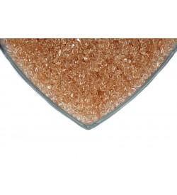 Kristalize Prizma Akrilik Boncuk Bal Rengi
