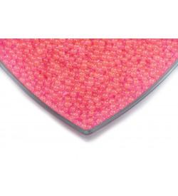 Fosforlu Pembe Deliksiz Kabak Boncuğu 4 mm