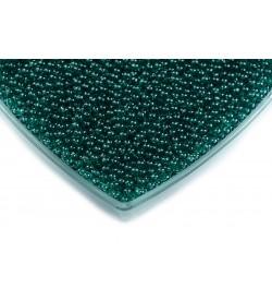 Haki Yeşil Deliksiz Kabak Boncuğu 4 mm