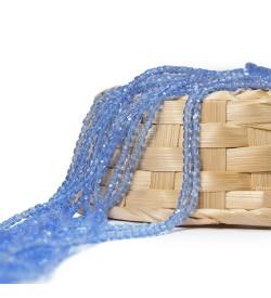 Açık Mavi Çek Kristali