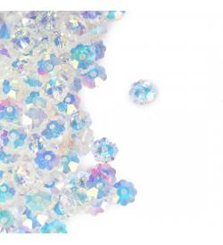 Papatya Çiçek Kristal Boncuk