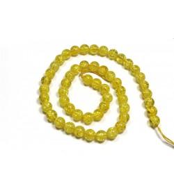 Sarı Necef Doğal Taş Boncuk