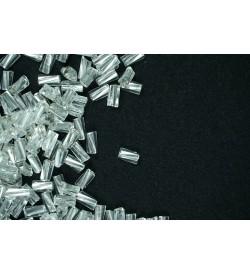 Burgulu Boru Boncuk Gümüş 4 mm