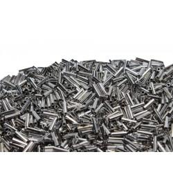 Gümüş Rengi Metal Boru Aparat
