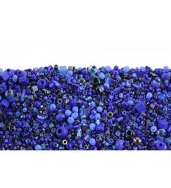 Miyuki Koyu Mavi Tonları Karışık Boncuk