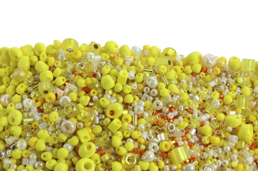 Miyuki Sarı Tonları Karışık Boncuk
