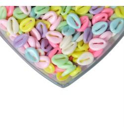 Soft Renkli Deniz Kabuğu Plastik Boncuk