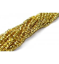 Altın Sarısı Plastik İnci Dizisi