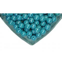 Mavi Plastik İnci 14 mm
