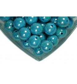 Mavi Plastik İnci 20 mm