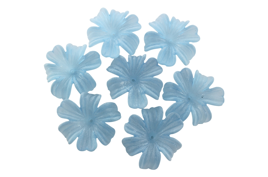 Mavi Çiçek Boncuk