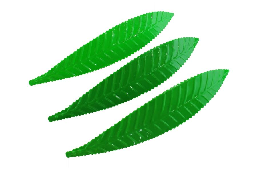 Uzun Yeşil Yaprak Pul