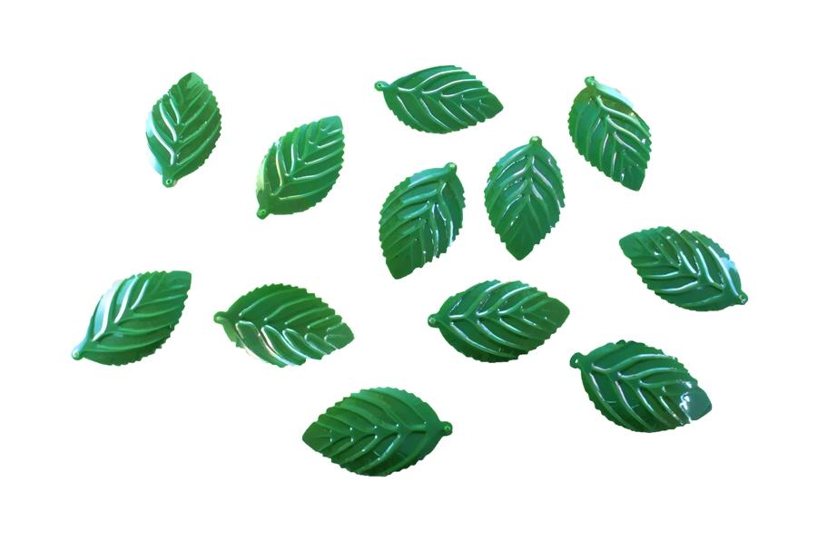 Yanardöner Yeşil Yaprak Pul