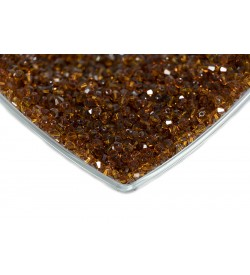 Swarovski Kristal Boncuk 4 mm Koyu Kahve