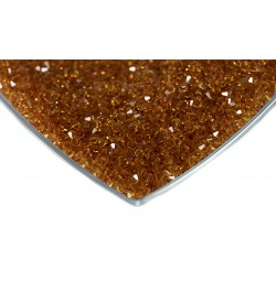 Swarovski Kristal Boncuk 4 mm Koyu Bal Rengi