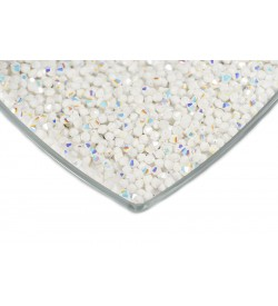 Swarovski Kristal Boncuk 4 mm Janjanlı Mat Beyaz