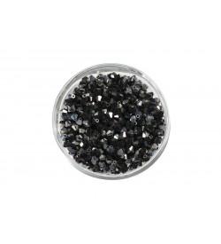 Swarovski Kristal Boncuk 4 mm Janjanlı Siyah