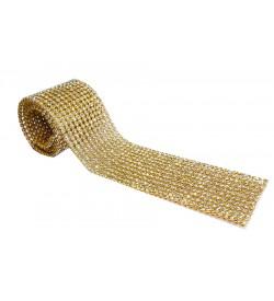 Ütüyle Yapışabilen Altın Sarısı Rengi Sıralı Taş