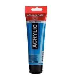 Amsterdam Akrilik Boya 120 Ml Manganese Blue Phthalo 582