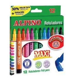 Alpino Keçeli Kalem Maxi 12li