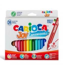 Carioca Joy Süper Yıkanabilir Keçeli Boya Kalemi 36lı