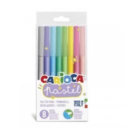 Carioca Pastel Süper Yıkanabilir Keçeli Kalem 8 Renk