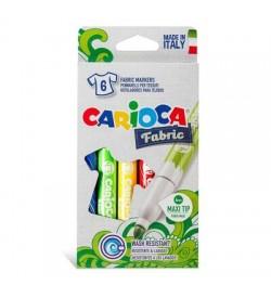 Carioca Cromatex Kumaş Boyama Kalemi 6 Renk