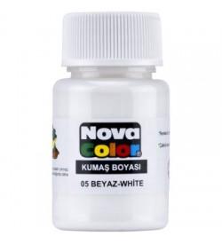 Nova Color Kumaş Boyası Beyaz Şişe
