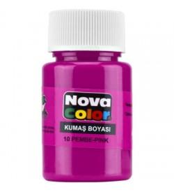 Nova Color Kumaş Boyası Pembe Şişe