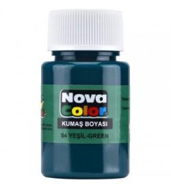 Nova Color Kumaş Boyası Yeşil Şişe