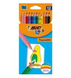 Bic Tropicolor2 Boya Kalemi Uzun 12'li Kutu