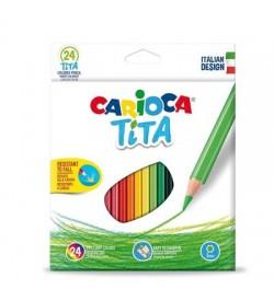Carioca Tita Kuru Boya Kalemi 24 Renk