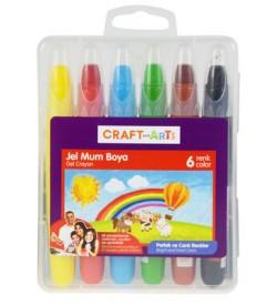 Craft and Arts Jel Mum Boya 6 lı Paket