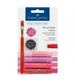 Faber-Castell Gelato Mum Boya Kırmızı Tonları 4 Renk