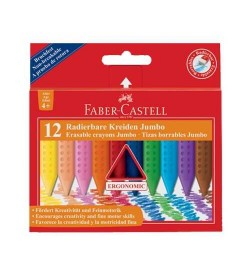 Faber Castell Grip Jumbo Mum Boya 12 Renk