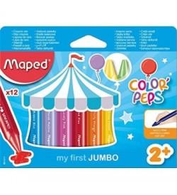 Maped Jumbo Mum Boya 12 Renk