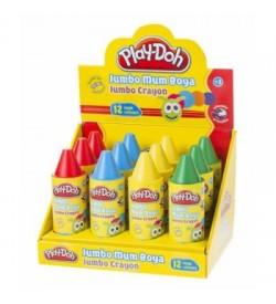 Play-Doh Crayon Tüp Mum Boya 12 Renk
