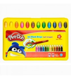 Play-Doh Crayon Jel Mum Boya 12 Renk